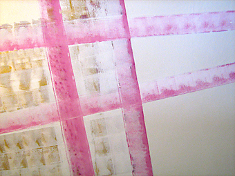 TITEL: rosa salon - in invitation, Rauminstallation, 2009